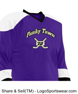 Adult Ricochet Reversible Hockey Jersey Design Zoom