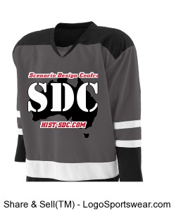 Holloway Adult Faceoff Hockey Jersey Design Zoom